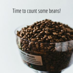 Time to count some beans